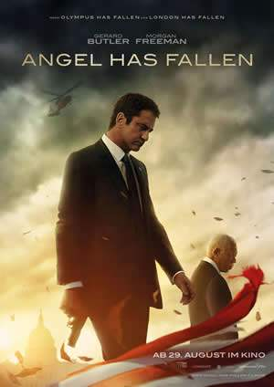 "Film-Plakat zum Film ""Angel Has Fallen"". Weiter zur Film-Website »"