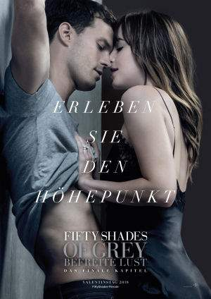 "Film-Plakat zum Film ""Fifty Shades of Grey - Befreite Lust"". Weiter zur Film-Website »"