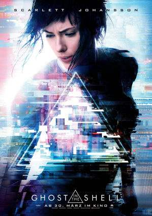 "Film-Plakat zum Film ""Ghost in the Shell"". Weiter zur Film-Website »"