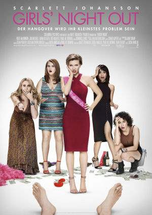 "Film-Plakat zum Film ""Girls Night Out"". Weiter zur Film-Website »"