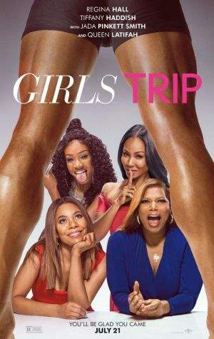 "Film-Plakat zum Film ""Girls Trip"". Weiter zur Film-Website »"