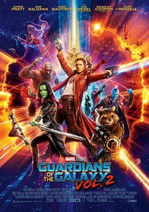 "Film-Plakat zum Film ""Guardians of the Galaxy Vol. 2"". Weiter zur Film-Website »"