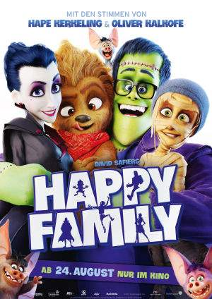 "Film-Plakat zum Film ""Happy Family"". Weiter zur Film-Website »"