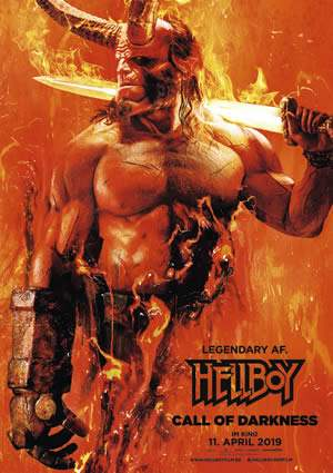 "Film-Plakat zum Film ""Hellboy 3 - Call of Darkness"". Weiter zur Film-Website »"