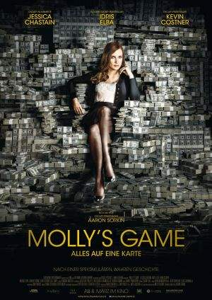 "Film-Plakat zum Film ""Molly's Game"". Weiter zur Film-Website »"