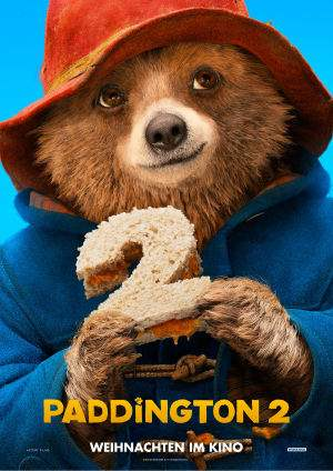 "Film-Plakat zum Film ""Paddington 2"". Weiter zur Film-Website »"