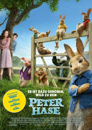 "Film-Plakat zum Film ""Peter Hase"". Weiter zur Film-Website »"