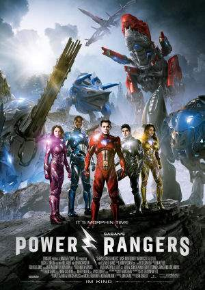 "Film-Plakat zum Film ""Power Rangers"". Weiter zur Film-Website »"