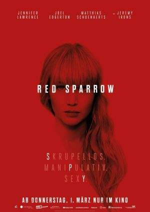 "Film-Plakat zum Film ""Red Sparrow"". Weiter zur Film-Website »"