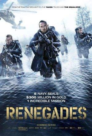 "Film-Plakat zum Film ""Renegades - Mission of Honor"". Weiter zur Film-Website »"