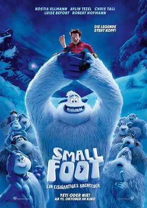 "Film-Plakat zum Film ""Smallfoot"". Weiter zur Film-Website »"