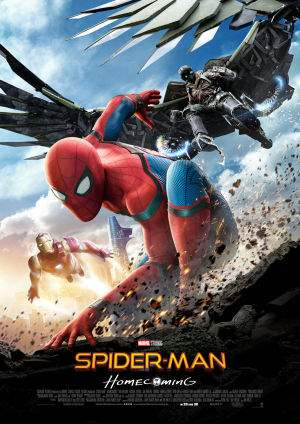 "Film-Plakat zum Film ""Spider-Man: Homecoming"". Weiter zur Film-Website »"
