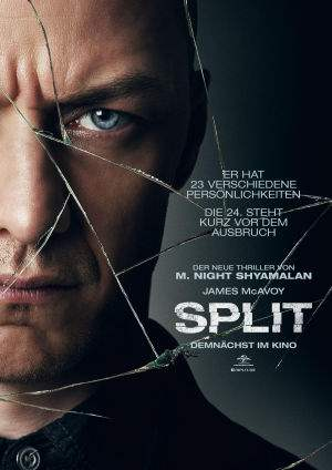 "Film-Plakat zum Film ""Split"". Weiter zur Film-Website »"