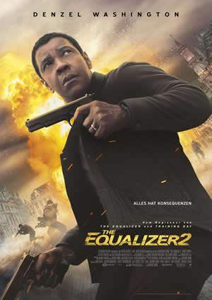 "Film-Plakat zum Film ""The Equalizer 2"". Weiter zur Film-Website »"
