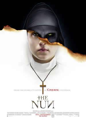 "Film-Plakat zum Film ""The Nun"". Weiter zur Film-Website »"